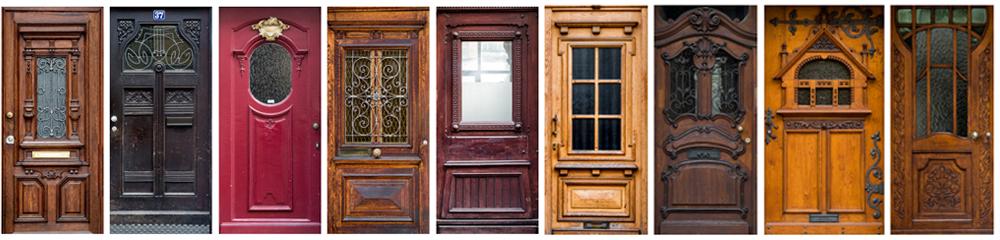 Meine Haustür Eine Tür Zur Erinnerung Und Orientierung