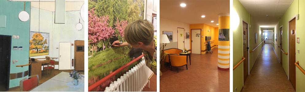Raumgestaltung für Pflegeeinrichtungen und Tagespflegen